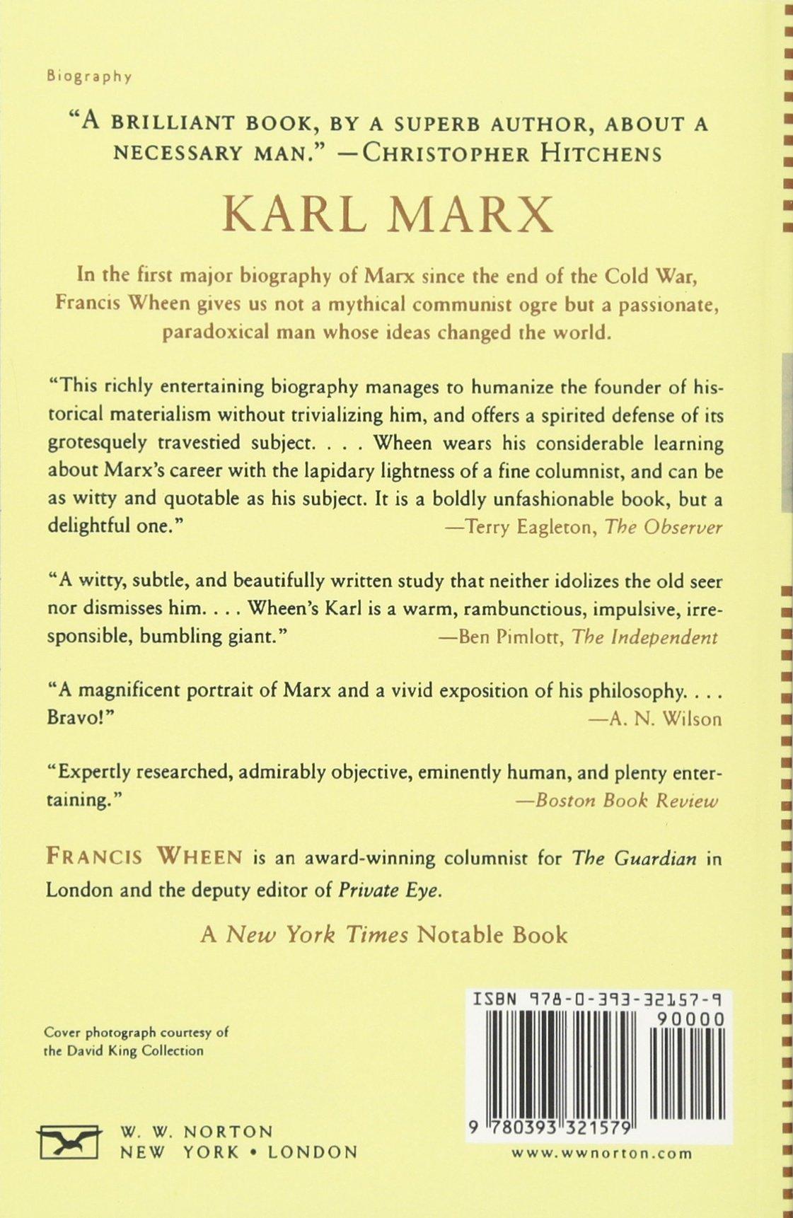 Karl Marx: A Life: Amazon.es: Francis Wheen: Libros en idiomas extranjeros