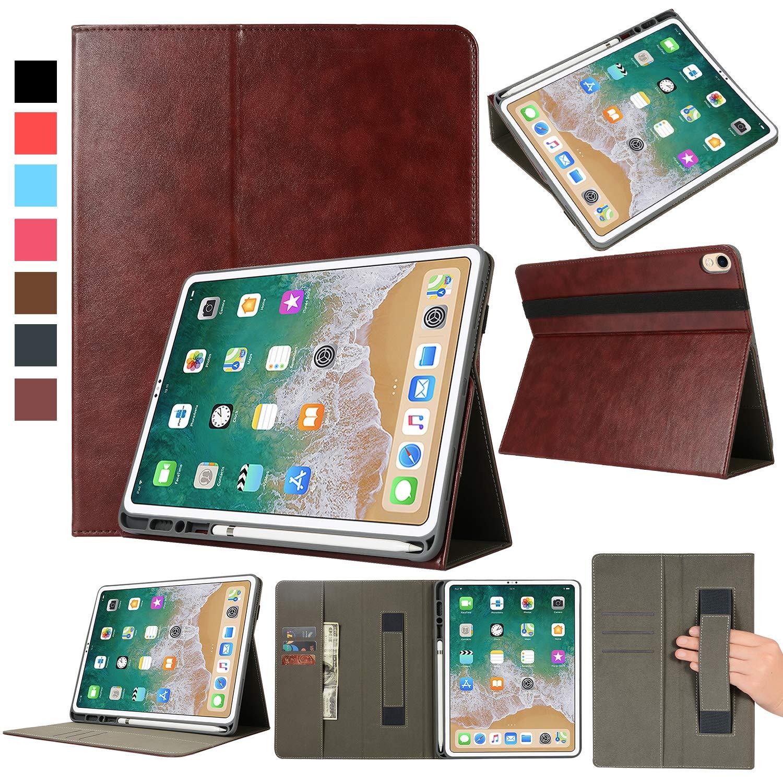 【送料無料/即納】  EpicGadget 2018年 スマートケース iPad Pro ブラウン Pro 12.9インチ 2018用 Apple Pencilホルダーとカードスロットとトラップ付き プレミアムPUレザー 自動ウェイク/スリープフォリオケースカバー 2018年 iPad 12.9インチ用 (第3世代) iPad Pro 12.9 inch 2018 ブラウン 2018 iPad Pro 12.9 ブラウン B07L1CF983, スチールコムショップ:68485ee2 --- a0267596.xsph.ru