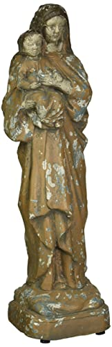 Creative Co-op Reproduction of Vintage Mary Child Statue
