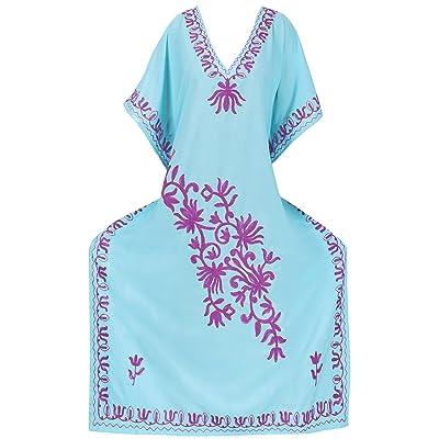 *La Leela* rayon des femmes, plus couvrir nuit de sommeil usure salon longue robe caftan caftan