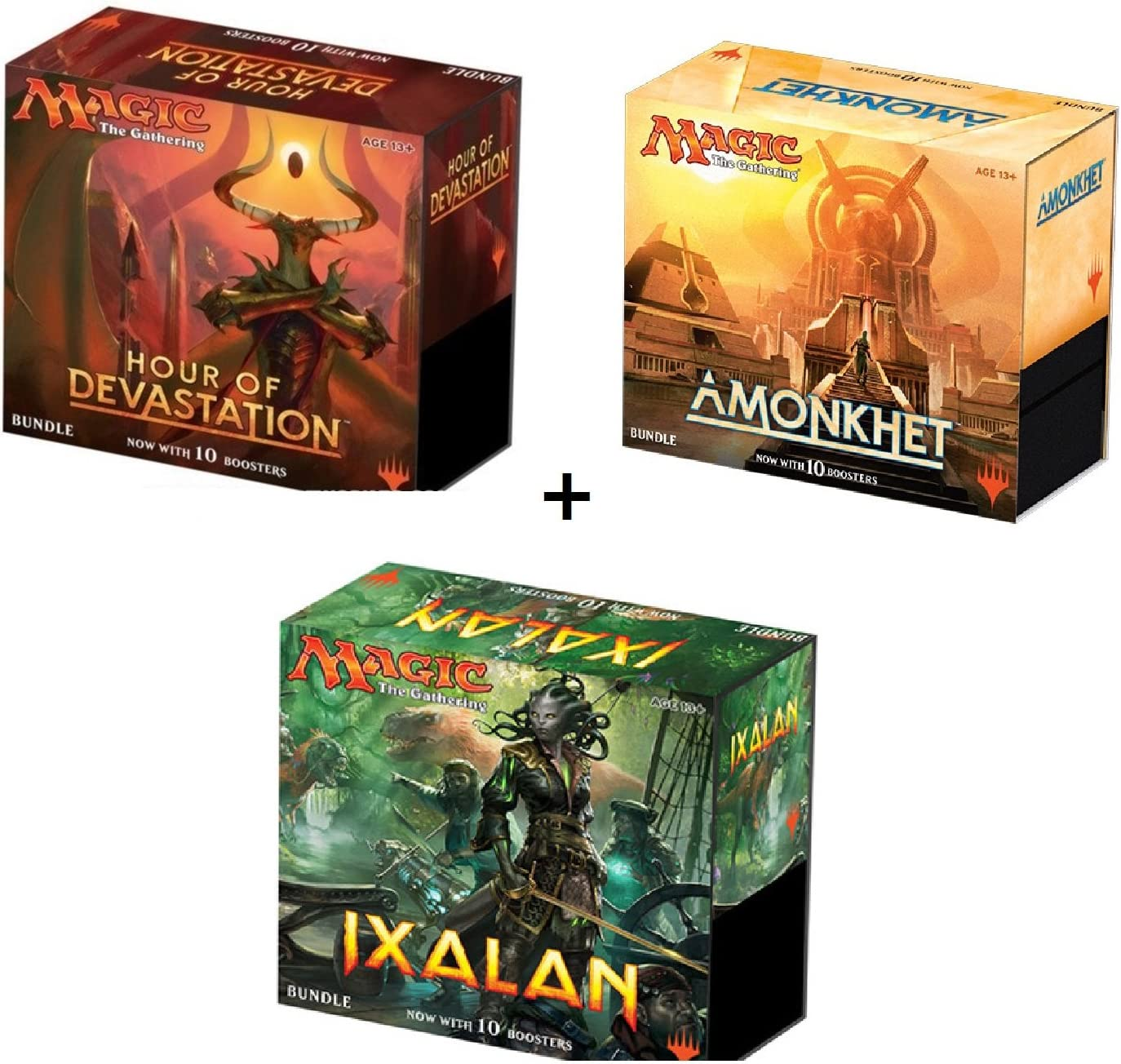 The Gathering Amonkhet Bundle Box with 10 Booster Packs Magic
