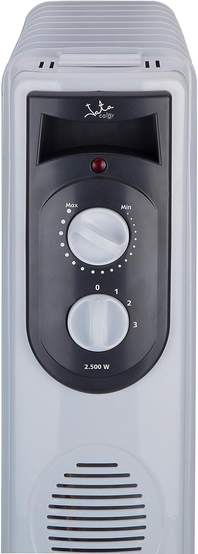 Jata R111 Radiador de aceite con 11 elementos caloríficos, 2500 W, Blanco