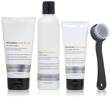 Amazon Com Menscience Men S Skin Care Kit Cleanser Moisturizer
