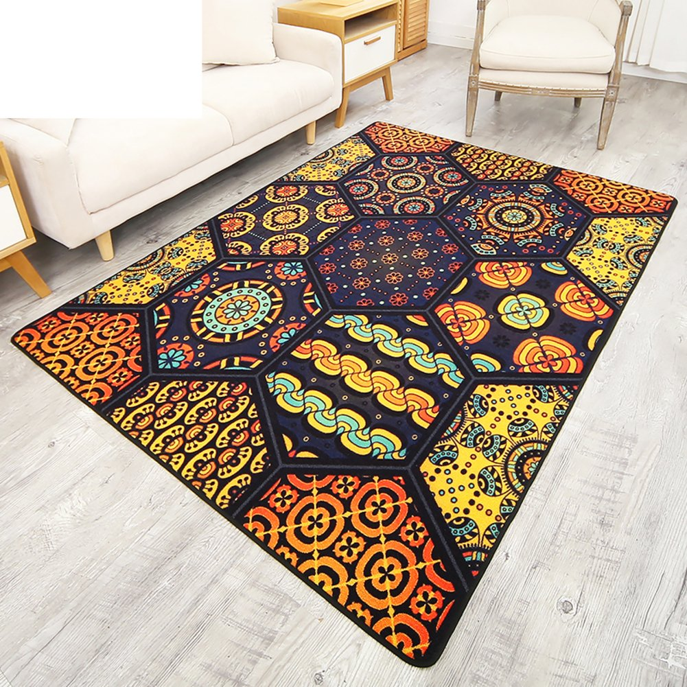 Europe and america Style Decoration Carpet,Stylish [modern] Carpet Living room Tea table Sofa Bedroom [bedside] Carpet-A 63x91inch(160x230cm)