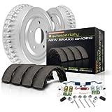Power Stop KOE15265DK Autospecialty Rear Replacement Brake Kit-OE Brake Drums & Ceramic Brake Pads