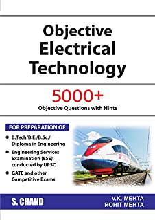 Electrical Engineering Objective Book By Vk Mehta Free Download: Buy Objective Electrical Technology (2018-19 Session) Book Online at rh:amazon.in,Design