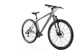 """Moma Bikes Bicicleta Montaña GTT 29""""Alu, SHIMANO 24V, Doble Freno Disco,"""