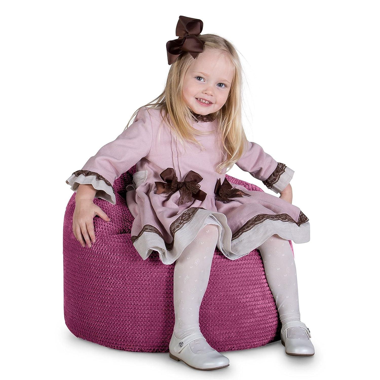 Lounge Pug®, Pug®, Pug®, Sitzsack Kinder, Kindersessel, Pom-Pom Pink 17c97e