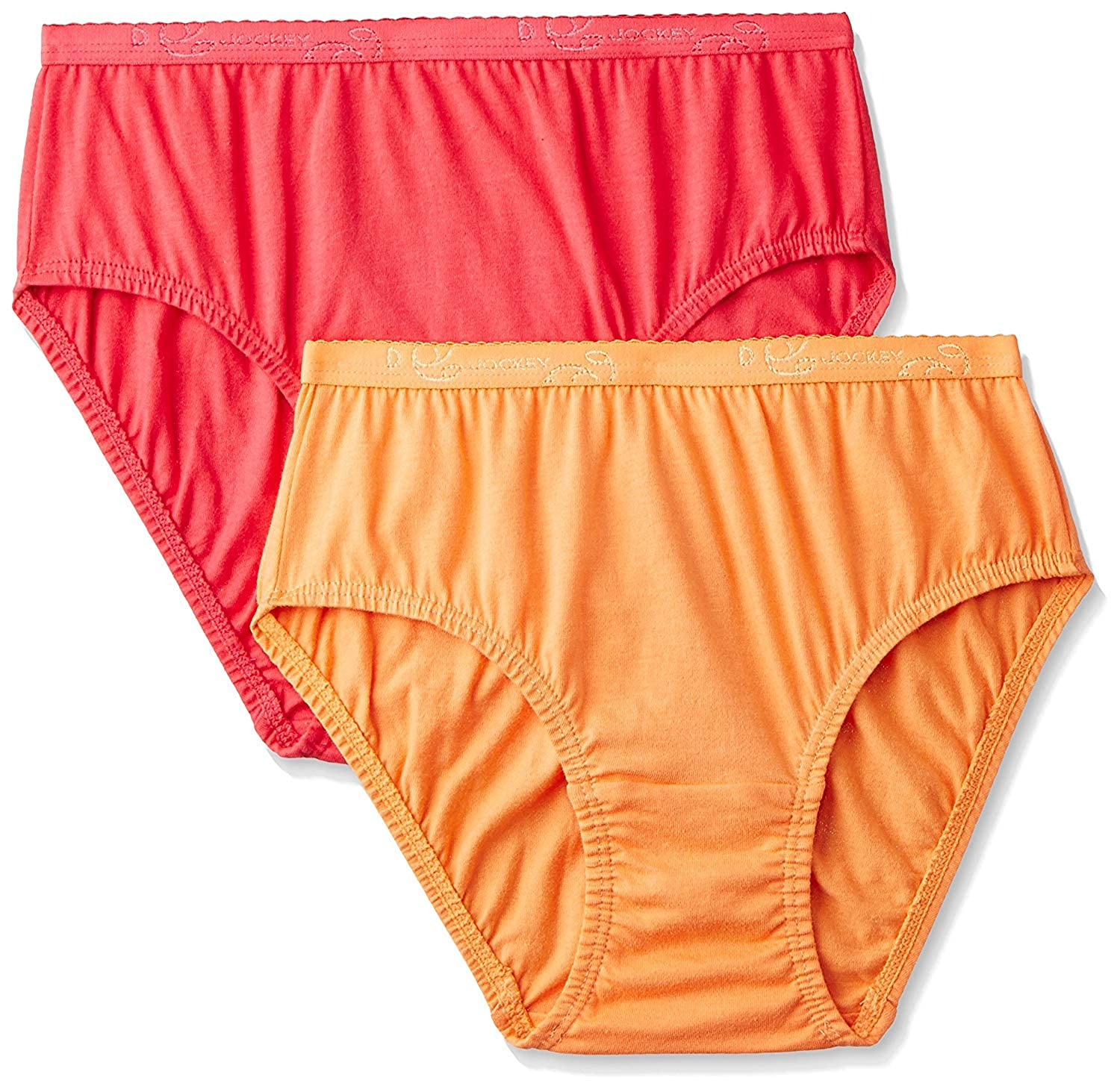 Pack of 2 Colors may vary Jockey Women/'s Cotton Hipster Panties Dark Color