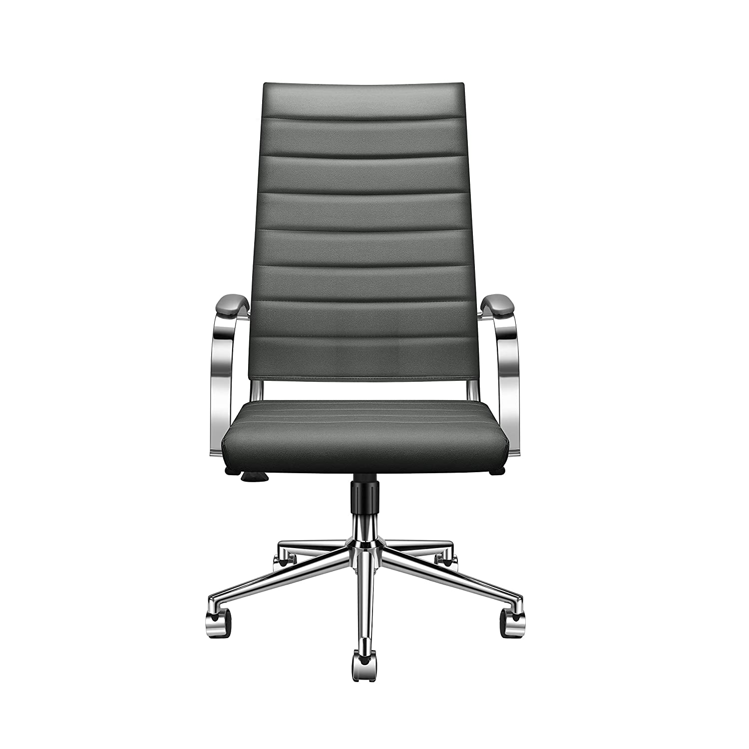 LUXMOD High Back Office Chair Grey