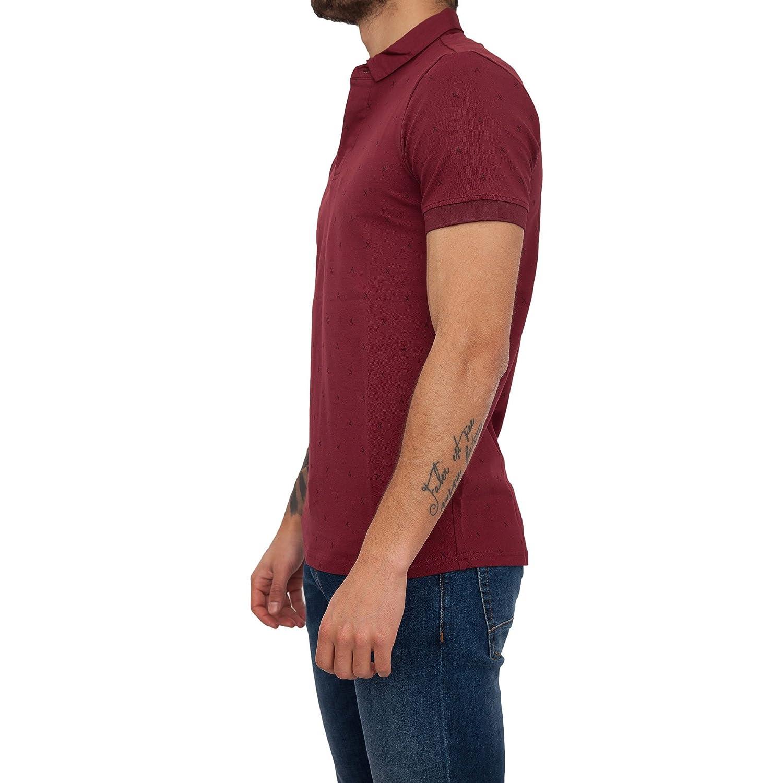 Armani Exchange Camiseta de Tirantes - para Hombre Burdeos XL ...