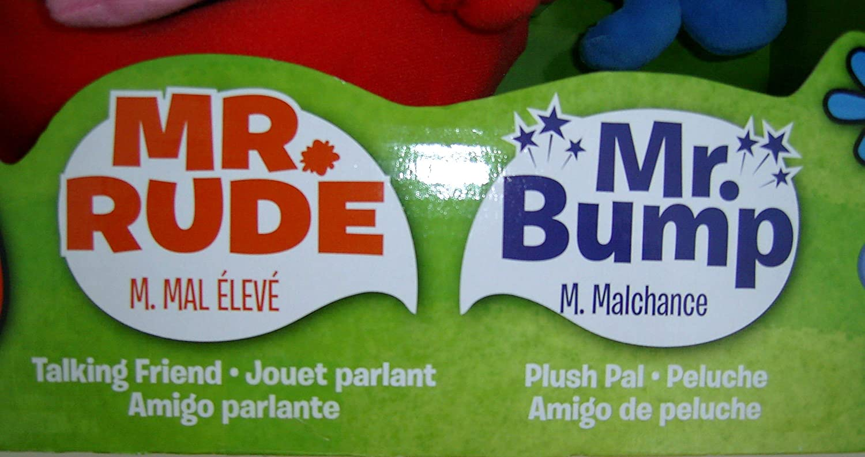 Men Mr Bump Gift Set Fisher Price R3354//R2065 Rude and Mr Fisher-Price Mr