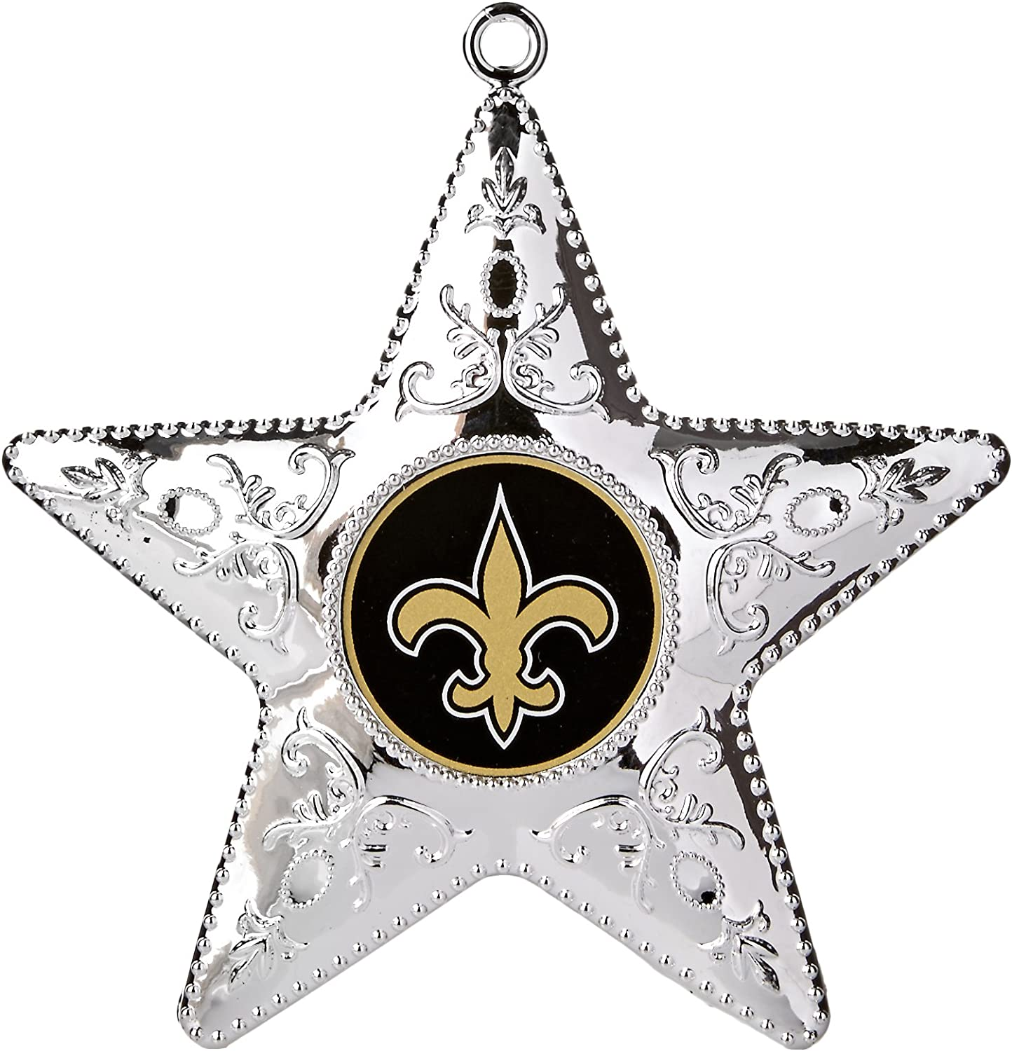 Topperscot by Boelter Brands NFL Silver Star Ornament