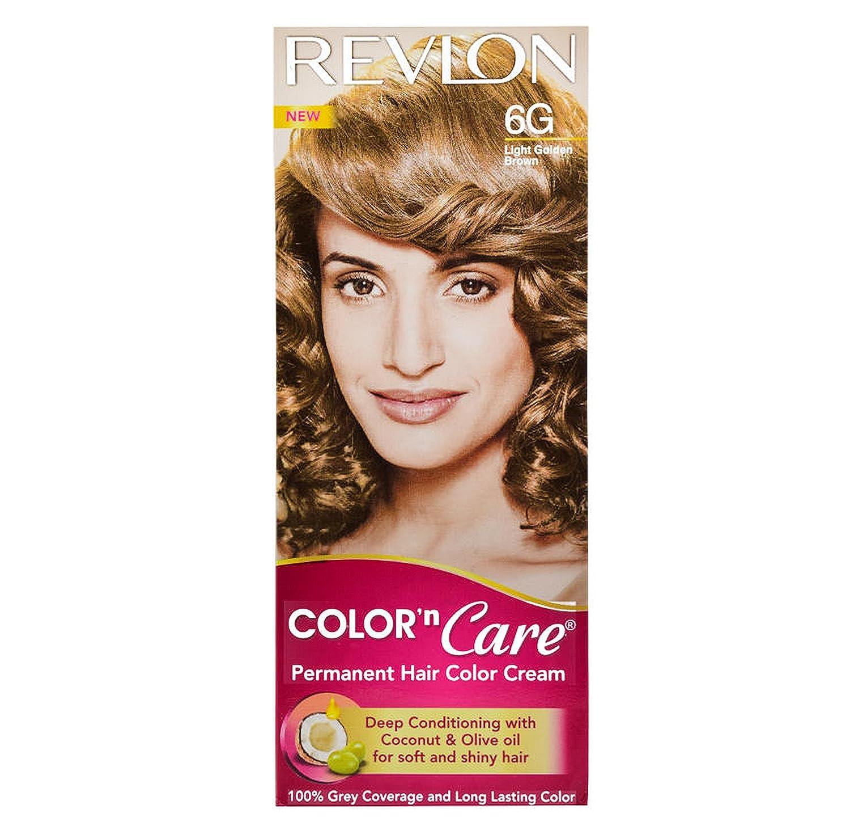 Buy Revlon Color N Care Permanent Hair Color Cream Light Golden