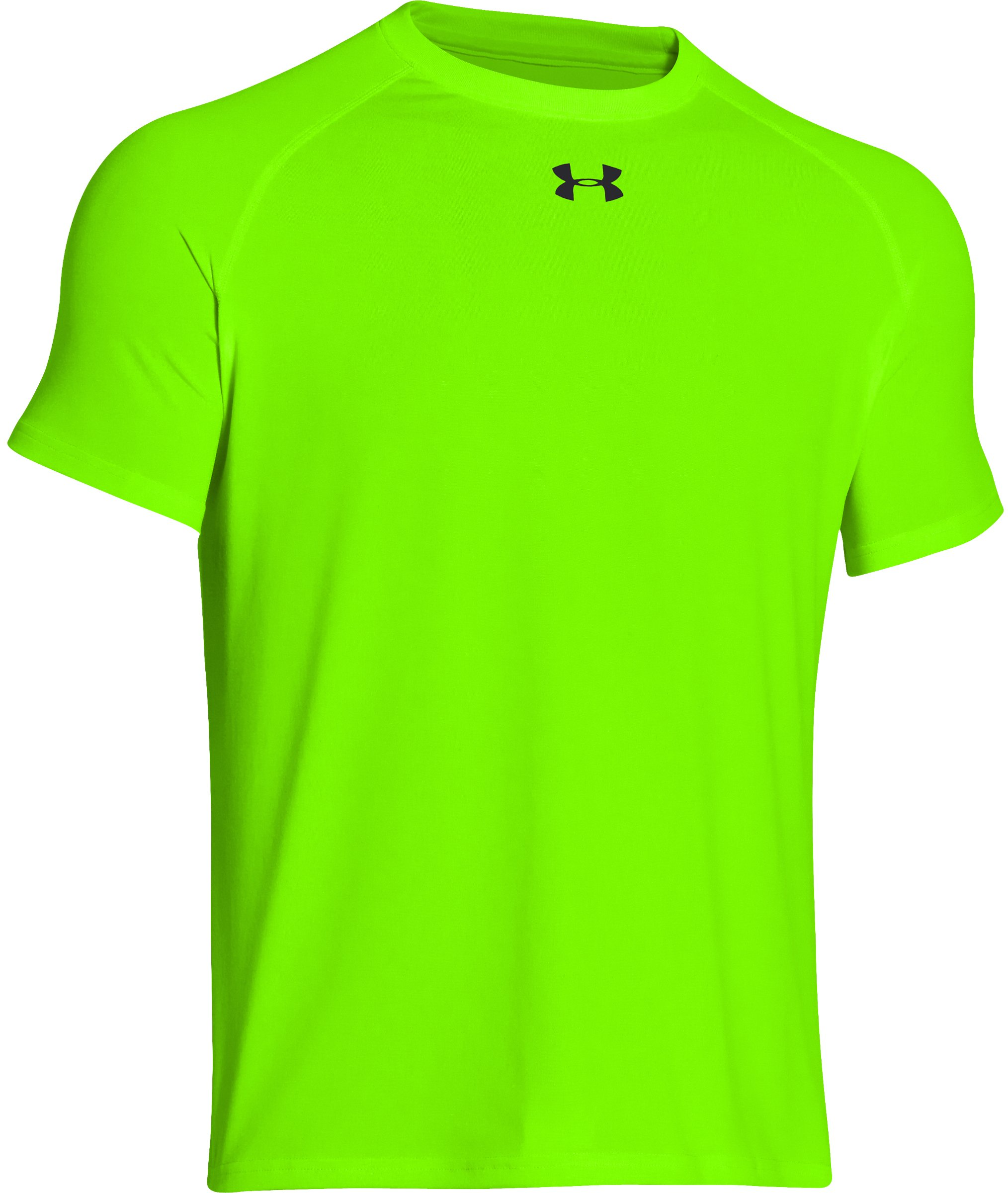 Under Armour Youth S/S Locker T-Shirt-yellow-youth XL