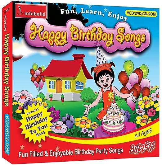 Amazon in: Buy Infobells Happy Birthday Songs DVD, Blu-ray