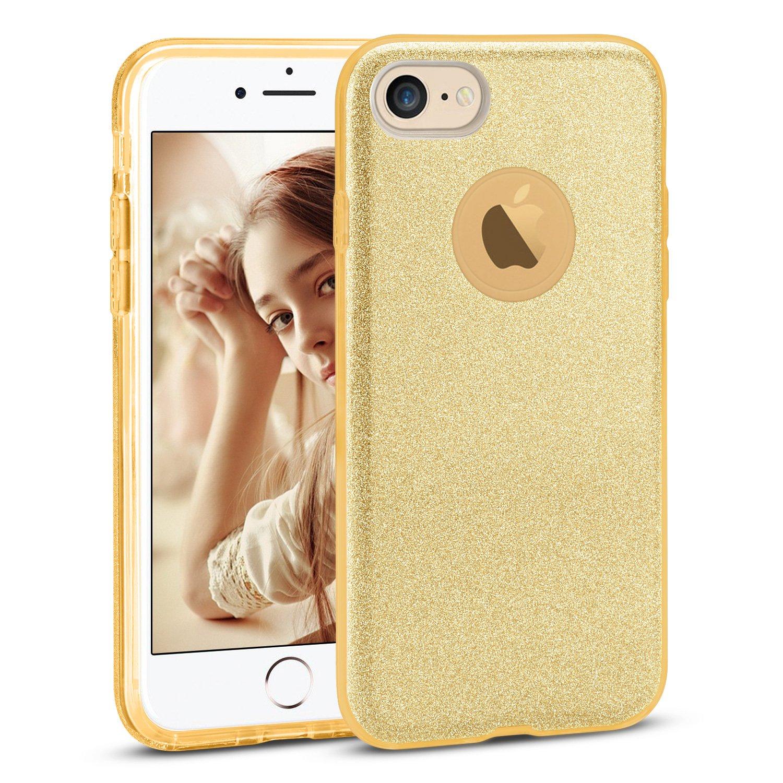 /É tui de T/é l/é phone Anti Choc Ultra Slim Etui Housse pour Apple iPhone X Soft TPU + Glitter Papier + PP Inner Layer Rose 005-04340490PK//FR 3 en 1 Coque iPhone X XY-shell /É tui de protection paillettes