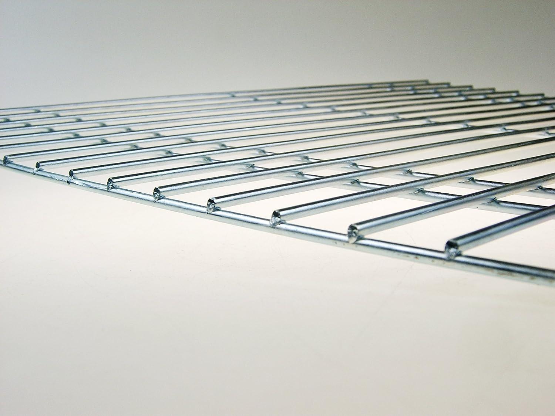 grillpaul.com Grille 100 x 60 cm-diam/ètre des tiges 4 mm /& stable et r/ésistante avec deux poign/ées