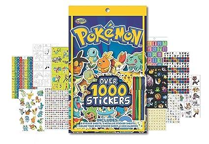 Amazon.com: Pokemon libro de pegatinas – Incluye más de 1000 ...