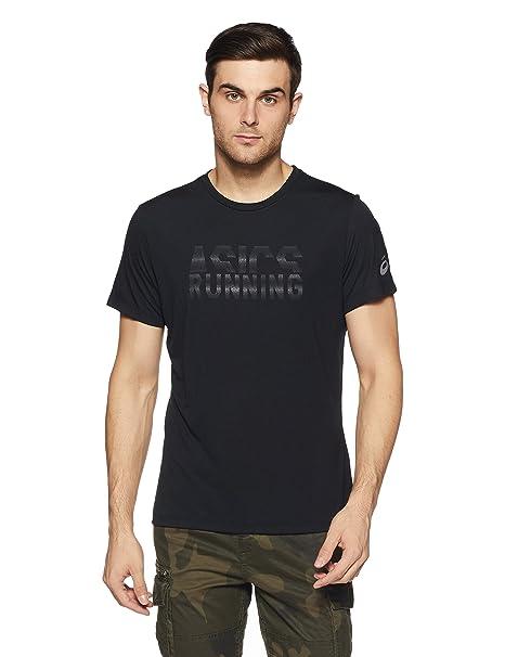 ASICS Graphic SS Top Camiseta, Hombre: Amazon.es: Ropa y accesorios