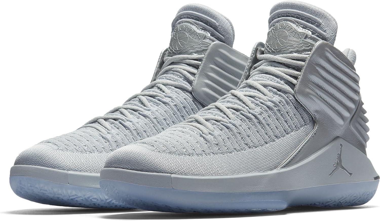 Pazienza Lubrificare Lontano  NIKE Men's Air Jordan XXXII Mid Basketball Shoes Pure Platinum Size 10.5:  Amazon.ca: Shoes & Handbags