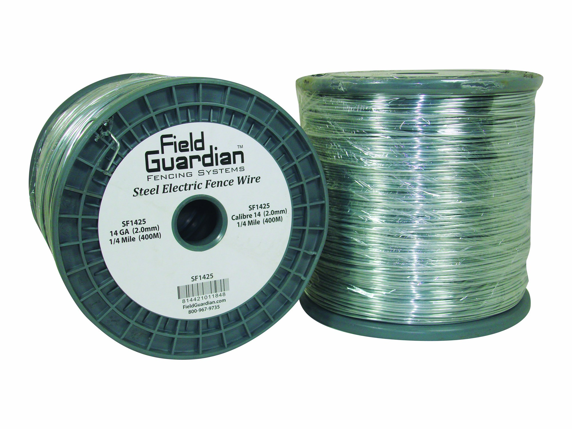 Field Guardian 14-Guage Galvanized Steel Wire, 1/4 Miles