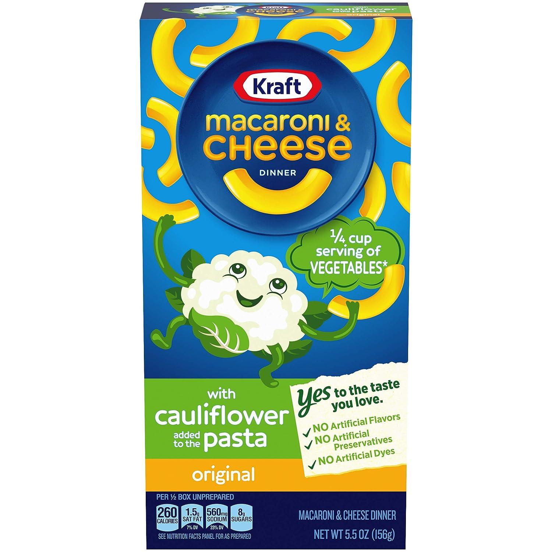Kraft Original Macaroni & Cheese with Cauliflower (5.5 oz Box)