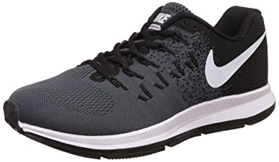 sports shoes 83dd6 e6b4b Nike Mens Air Zoom Pegasus 32, BLACK WHITE-PURE PLATINUM, 6 M