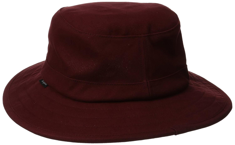 f82a737b Amazon.com: Brixton Men's Tracker Bucket Hat, Burgundy, Large: Clothing
