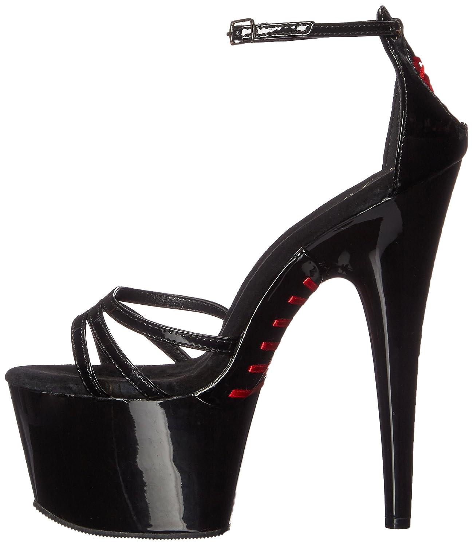 Pleaser Women's 10 Ado762/b/m Platform Sandal B01N5EHSOK 10 Women's B(M) US|Black Patent/Black 049f41