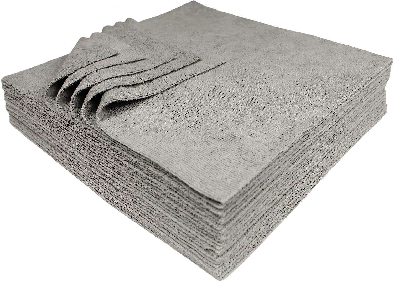 Silver microfiber towel orange spin mop
