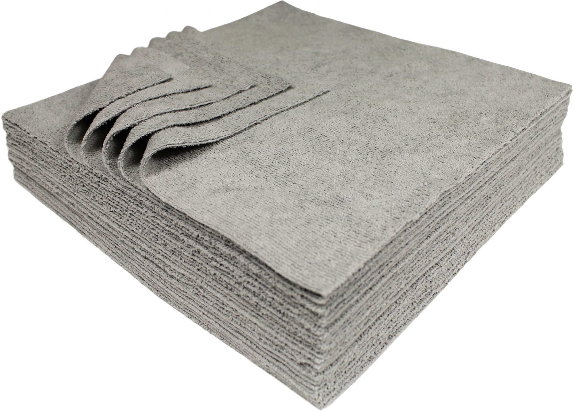 Udderly Clean Antimicrobial Silver Microfiber Towels Ultra Cut 12 X 12 in. 25Pk product image