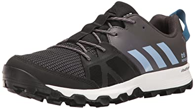 new concept ea5fc 80cf5 adidas Outdoor Mens Kanadia 8 TR Trail Running Shoe, BlackEasy BlueTrace