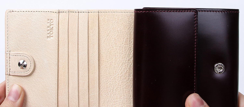 レディオアオーダー GLAMOROUS CHI-BI 二つ折り財布 READY OR ORDER B077NC55TQ ワイン/アイボリー ワイン/アイボリー