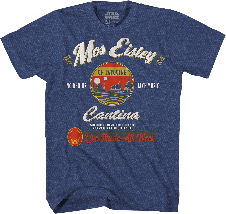 Star Wars Mos Eisley Cantina Tatooine Men's Adult Graphic Tee T-Shirt