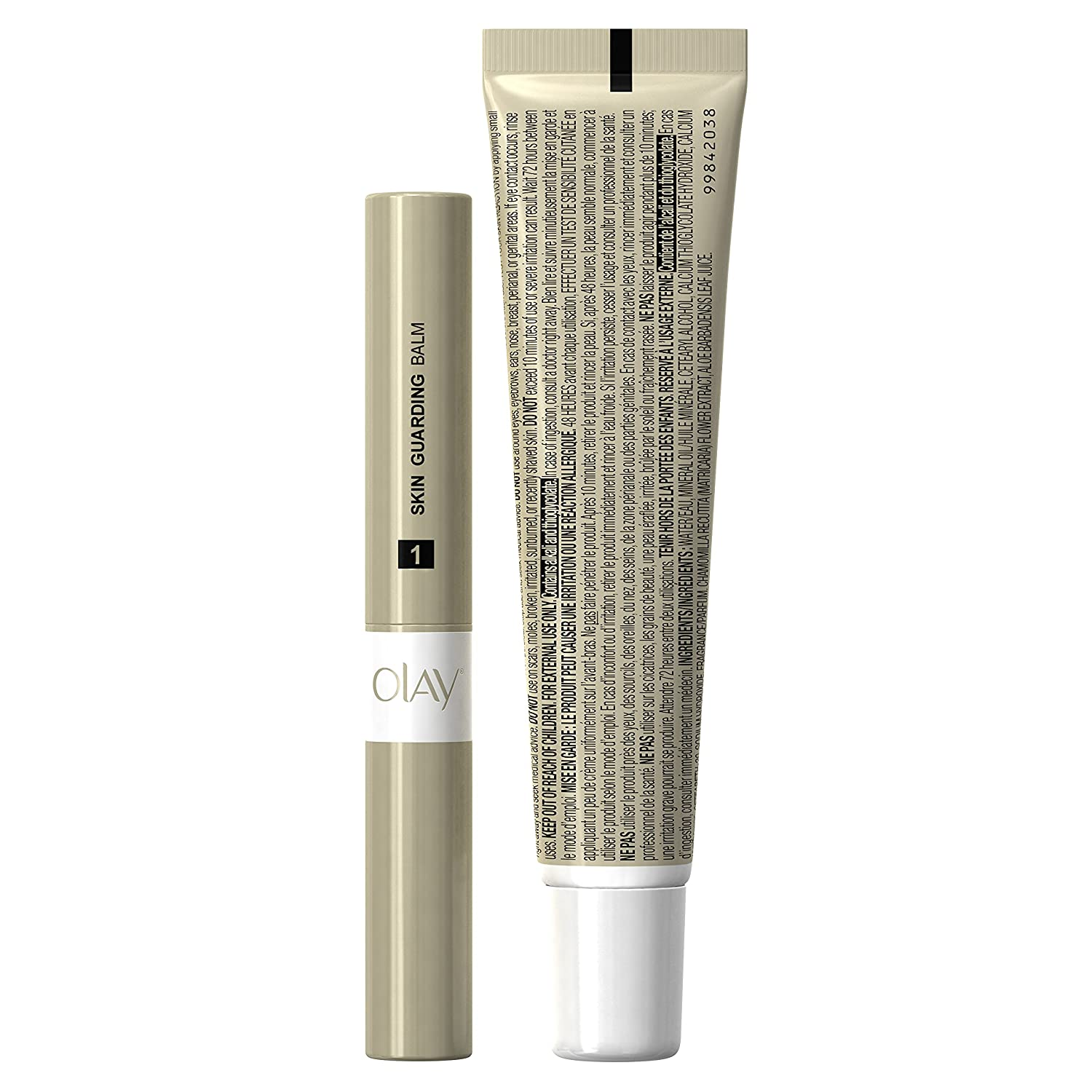 Crema depilatoria facial olay