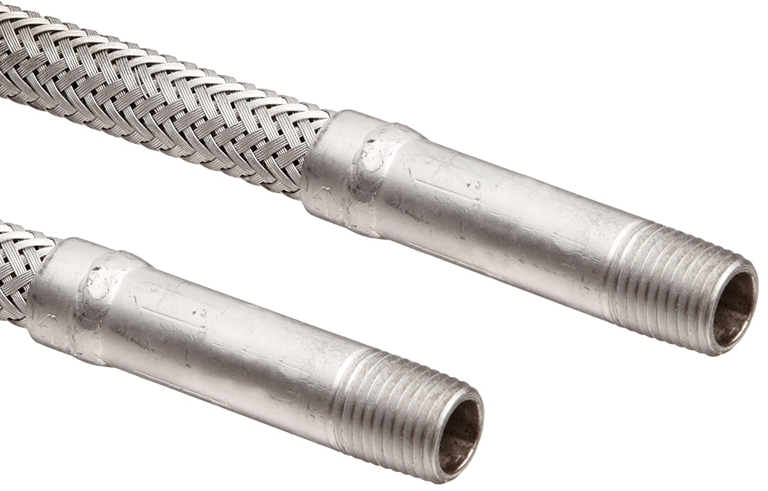 531 PSI Maximum Pressure Hose Master Annuflex Stainless Steel 316 Flexible Hose Assembly 1-1//2 Stainless Steel 316 Hex NPT Male x FJIC Swivel Connection 1-1//2 ID 12 Length
