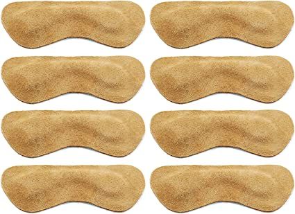 SPACE LION Leather Heel Grips Liner Cushions Inserts for Loose Shoes,Shoe Pads