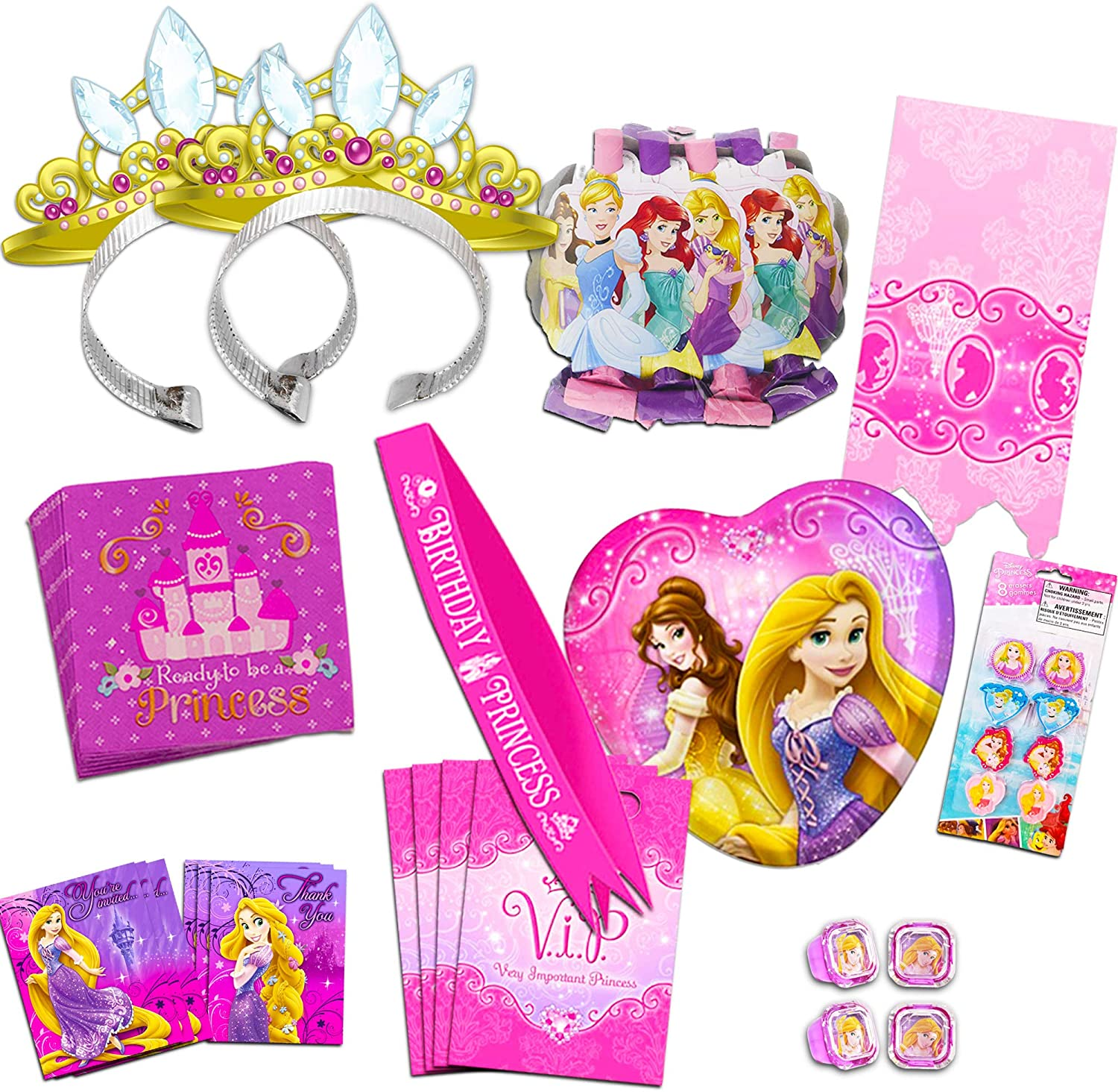 Disney Princess Very Important Princess Birthday Party Supplies Party Horns