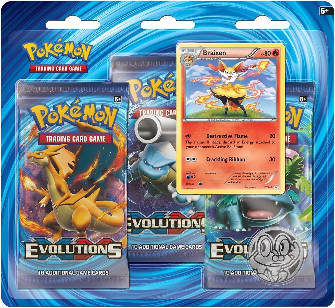 Pokemon Blister 3 Pack XY12 Evolutions - English: Amazon.es ...