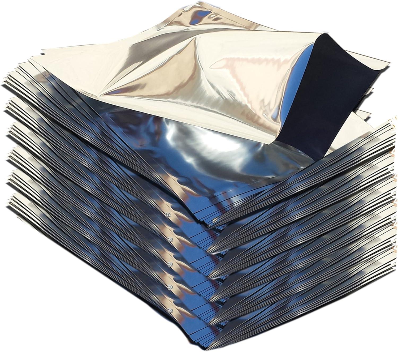 PackFreshUSA: 100 Pack - One Quart Genuine Mylar Bags (8