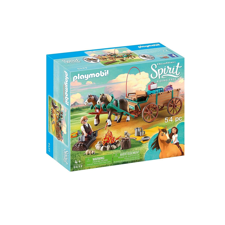 Spirit- Lucky Papá y carruaje, (Playmobil 9477): Amazon.es: Juguetes y juegos