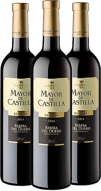 Mayor de Castilla Reserva - Vino Tinto D.O Ribera del Duero, Pack de 3 x 750 ml: Amazon.es: Alimentación y bebidas