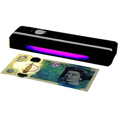 Portable UV Money Checker?Détecte forgé polymère et papier billets de banque - 1 Note Checker