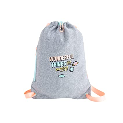 Mr. Wonderful Small Sack Bag-Wonderful Things Are Coming, Talla Única