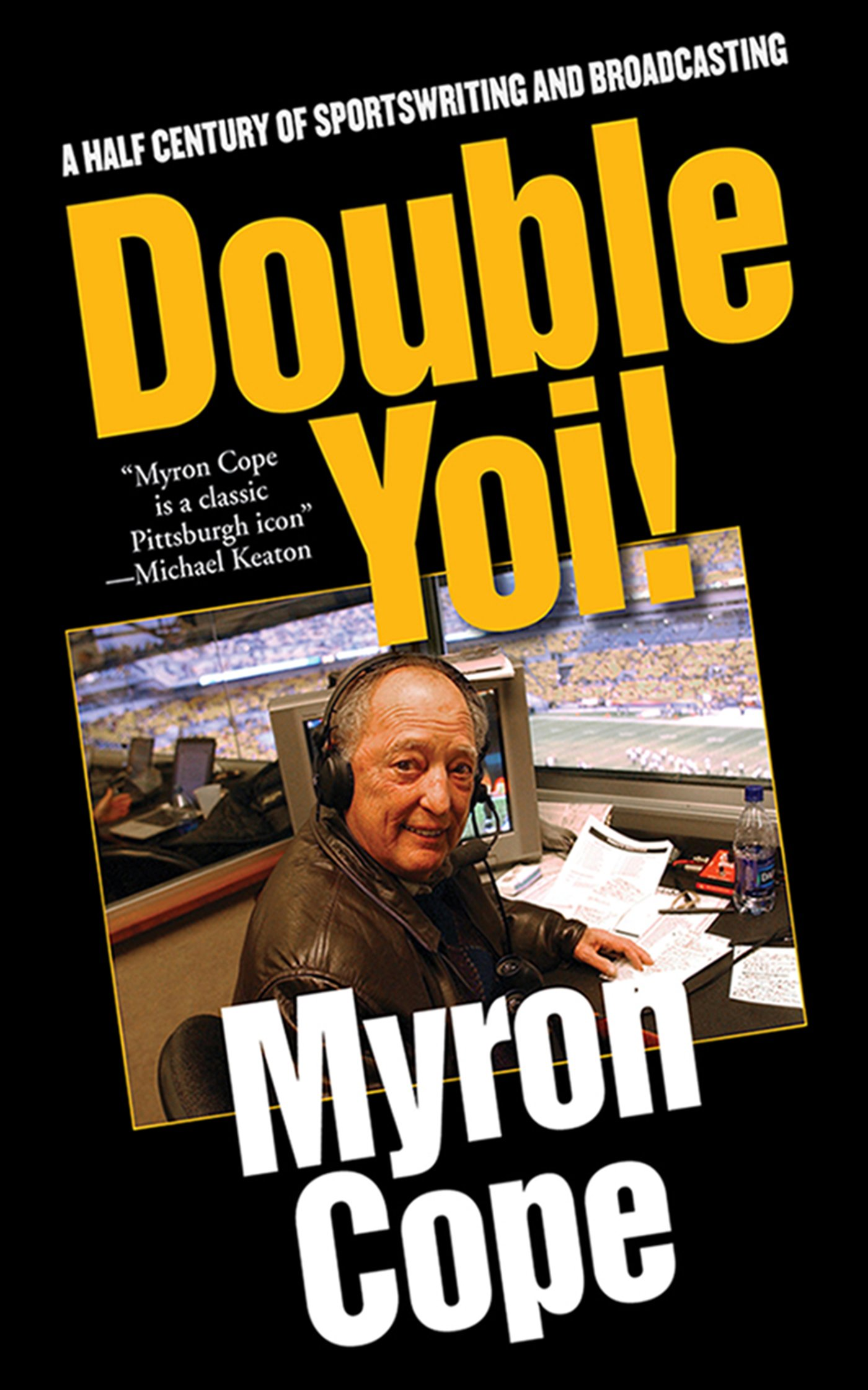 Double Yoi!: A Half-Century of Sportswriting and Broadcasting by Sports Publishing