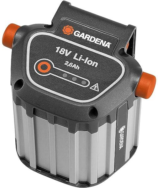 Gardena 01749-66 Lluvia Bomba 2000/2 Li de 18, Negro, turquesa y ...
