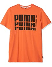 Puma 852435 29 Camiseta Cuello Redondo Manga Corta Algodón - Camisas y  Camisetas (Camiseta c254e85be2016