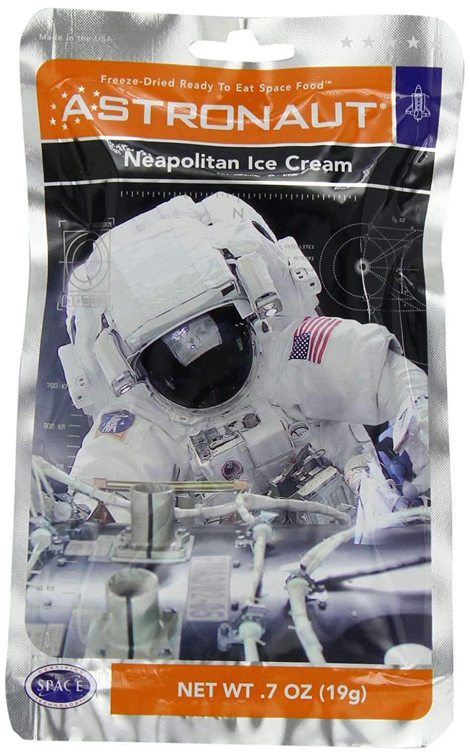 Astronaut Food Ice Cream Space Food - As...