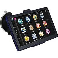 Maxfind 17,8cm Voiture de Navigation GPS écran Tactile HD 8g 256m avec Une Vie utile, Cartes, et Le Trafic (Bleu)